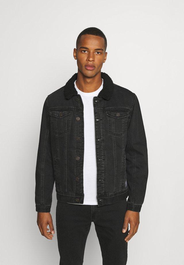 OUTERWEAR - Denim jacket - denim black