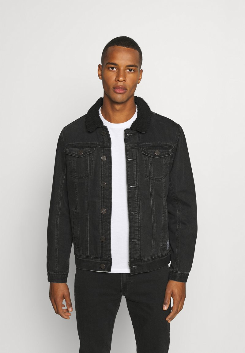 Blend - OUTERWEAR - Džínová bunda - denim black