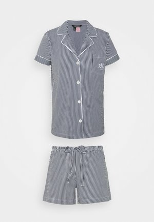 CORE - Pyjamas - dark blue/white