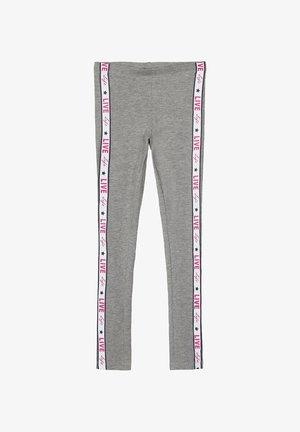 Leggings - Trousers - grey melange