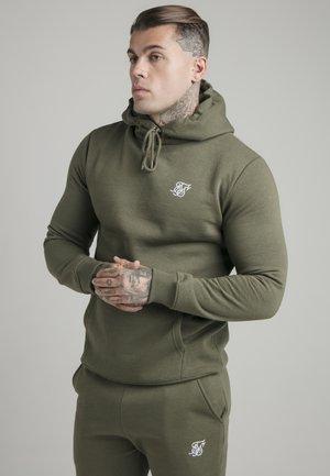 MUSCLE FIT OVERHEAD HOODY - Sweater - khaki