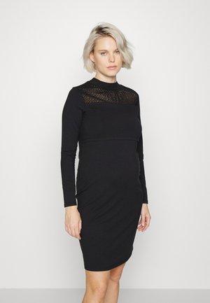 DRESS NURS JORDAN - Trikoomekko - black