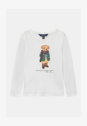 BEAR - Long sleeved top - white