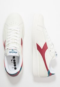Diadora - GAME - Trainers - white/brick red/ink blue - 1