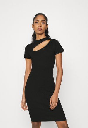 ONLNESSA LIFE CHEST CUT DRESS  - Shift dress - black