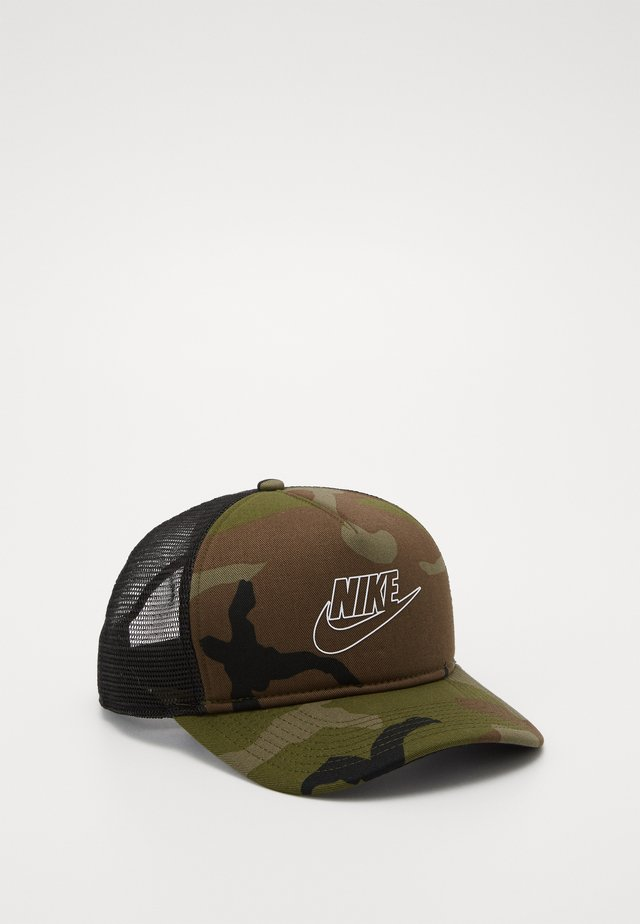 CAMO TRUCKER - Lippalakki - medium olive