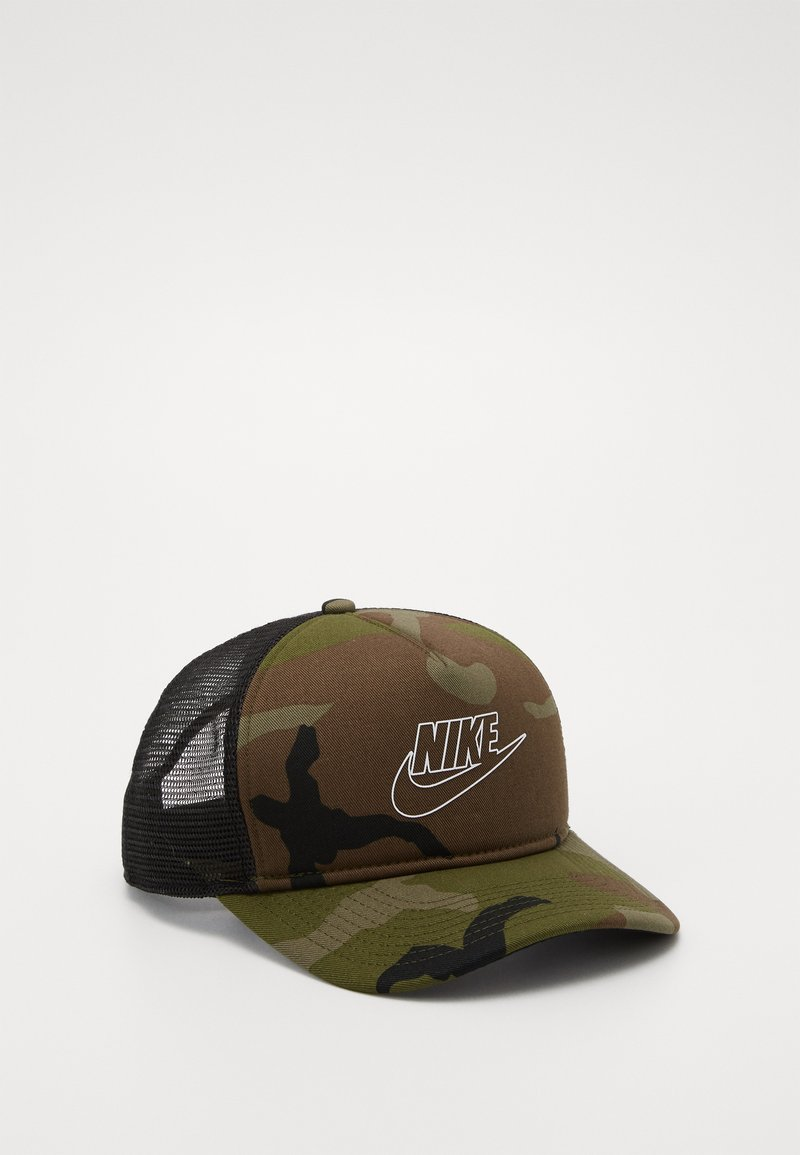 Nike Sportswear - CAMO TRUCKER - Kšiltovka - medium olive