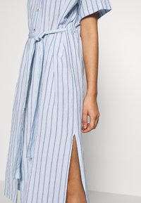 Leon & Harper - ROBUSTA STRIPES - Shirt dress - sky - 5