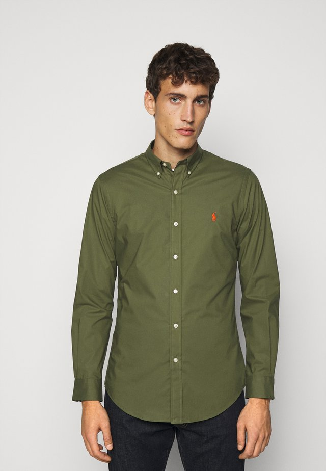 NATURAL - Camicia - supply olive