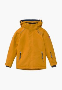TrollKids - KIDS HOLMENKOLLEN SNOW JACKET PRO - Snowboardjakke - golden yellow/mystic blue - 0