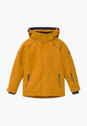 KIDS HOLMENKOLLEN SNOW JACKET PRO - Snowboardjas - golden yellow/mystic blue