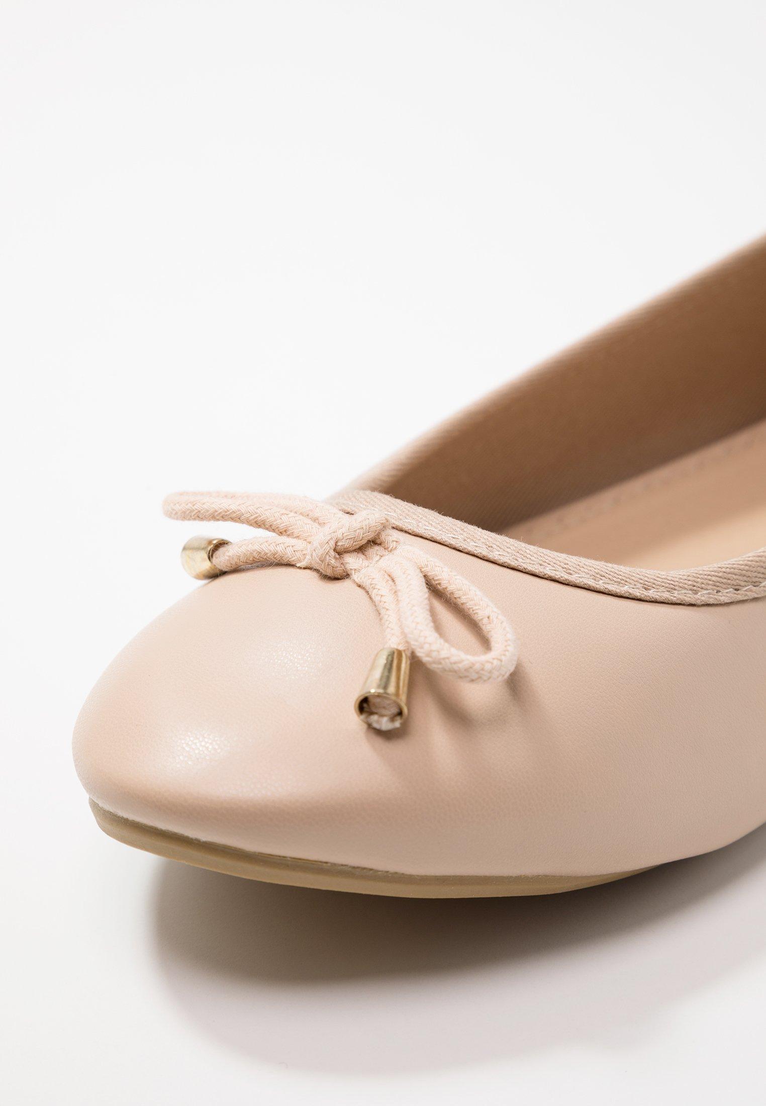 WIDE FIT ALICE BASIC Ballerina nude