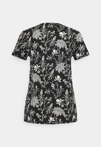 Scotch & Soda - SHORT SLEEVE TEE - Print T-shirt - black/white - 1