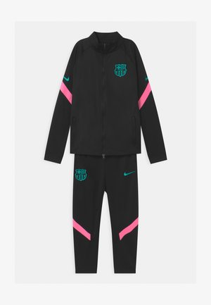 FC BARCELONA SET UNISEX - Article de supporter - black/pink beam/new green
