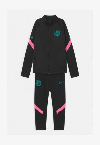 FC BARCELONA SET UNISEX - Fanartikel - black/pink beam/new green