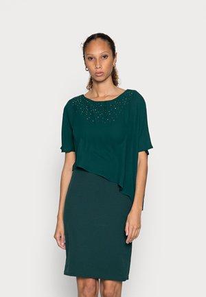Cocktail dress / Party dress - dark green