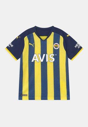 FENERBAHÇE ISTANBUL HOME REPLICA JR UNISEX - Club wear - blazing yellow/medieval blue