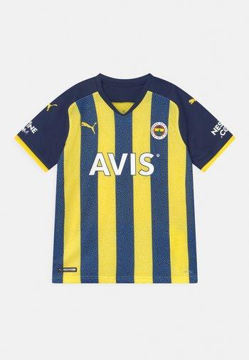 FENERBAHÇE ISTANBUL HOME REPLICA JR UNISEX - Klubové oblečení - blazing yellow/medieval blue