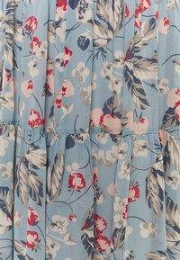 Lauren Ralph Lauren - POLY CRINKLE  - A-line skirt - blue multi - 2
