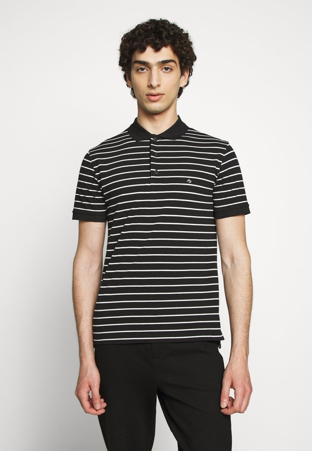 STRIPE  - Polo - ivory