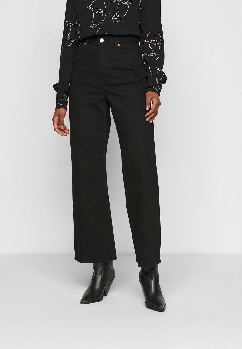 Dr.Denim Petite - ECHO - Jeans relaxed fit - black