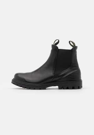 TREDTRAY - Platform ankle boots - black