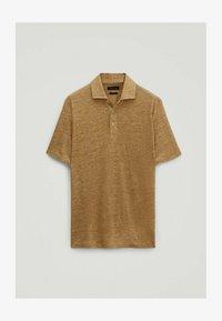 Massimo Dutti - Poloshirt - brown - 0