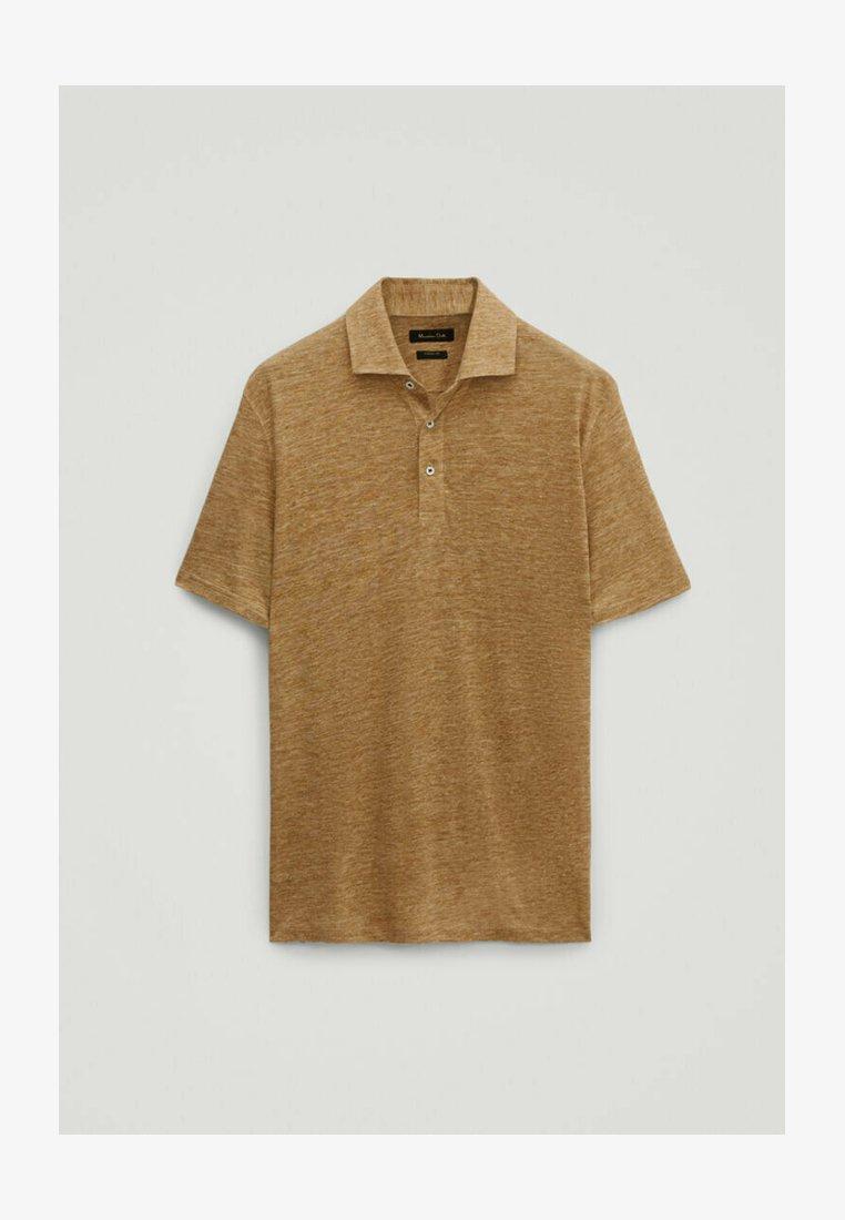 Massimo Dutti - Poloshirt - brown