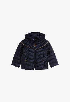 HOODED - Winter jacket - dark blue