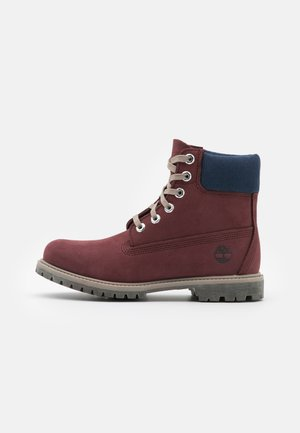 6IN PREMIUM BOOT - Lace-up ankle boots - burgundy