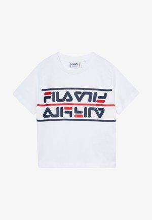 SALMAN - T-shirt print - bright white