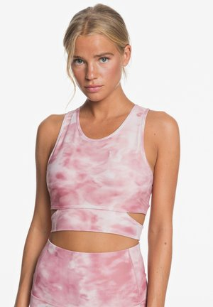 WHERE TO START  - Sports bra - silver pink imagine