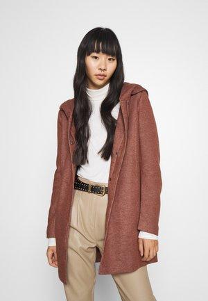 SEDONA OTW NOOS - Krátký kabát - chocolate fondant melange