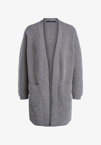 SET - HOCHWERTIGER  - Cardigan - mink grey - 0