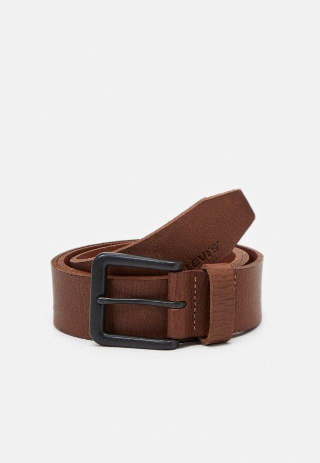 CLASSIC TUMBLED BELT UNISEX - Belt - brown