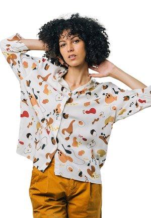 KIBIBI - Button-down blouse - white