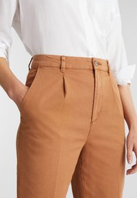 Esprit - FASHION - Trousers - rust brown - 3