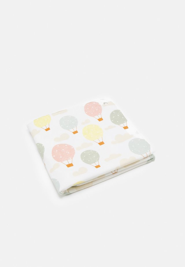 SHAWL BLANKET BALLOONS UNISEX - Babyteppe - light dusty white