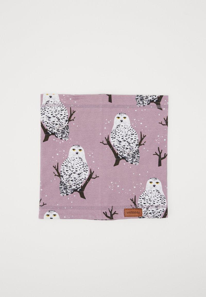 Walkiddy - LOOP SNOW OWLS - Snood - purple