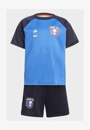 MARVEL SPIDER-MAN SET - Sports shorts - blue