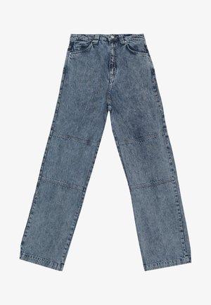 BASH PANTS  - Relaxed fit jeans - acid blue