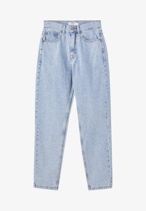 Slim fit jeans - mottled light blue