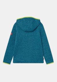 TrollKids - JONDALEN UNISEX - Fleece jacket - petrol/lime - 1