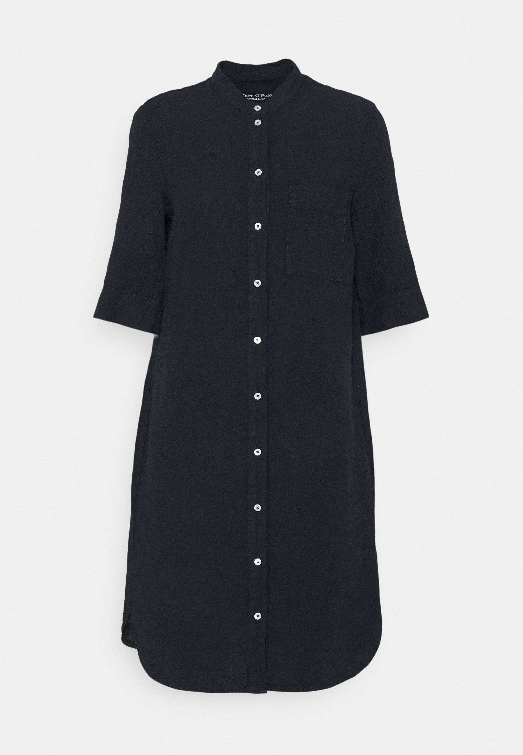 Mujer DRESS STYLE BREAST POCKET COLLARSTAND - Vestido informal