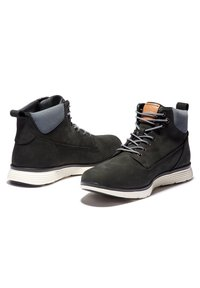 Timberland - KILLINGTON CHUKKA - Lace-up boots - black nubuck w cord - 3