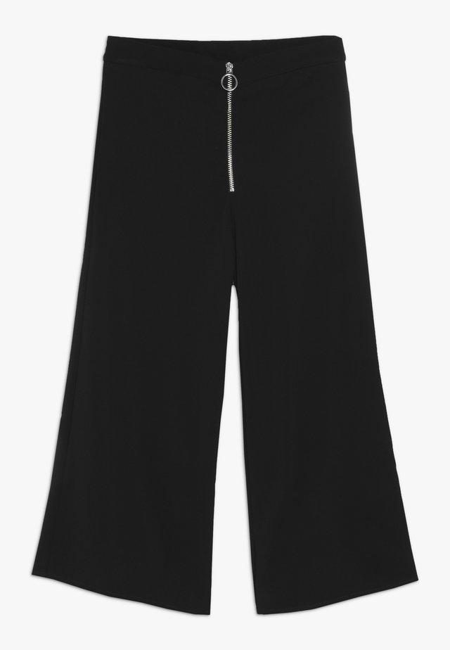 AMMIRAGLIO PANTALONE - Spodnie materiałowe - black