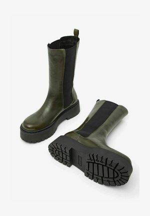 BIADEB - Platform boots - khaki