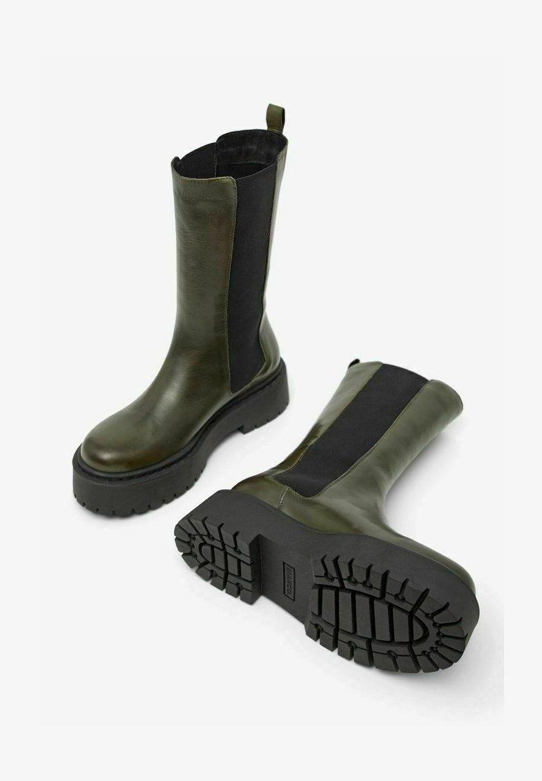 Bianco - BIADEB  - Platform boots - khaki
