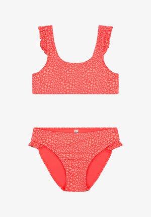 TUVALU - Top de bikini - red