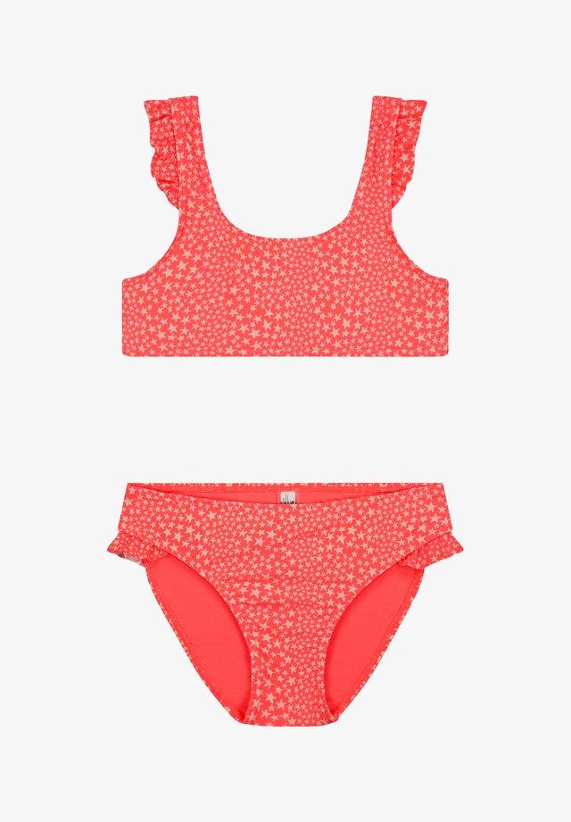 TUVALU - Bikini top - red